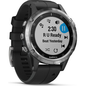 Garmin fenix 5 Plus Smartwatch silver/black